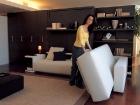 divano trasformabile con penisola
