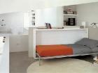 Sistema trasformabile letto singolo e tavolo - letto aperto