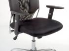 sedia per ufficio ergonomica nera