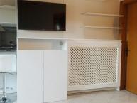 parete attrezzata griglia copri termosifone
