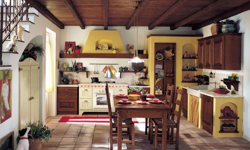 cucina classica, cucina rustica, stile classico