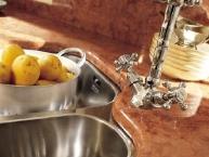 lavello acciaio inox doppia vasca