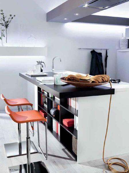 cucina moderna, melaminico opaco