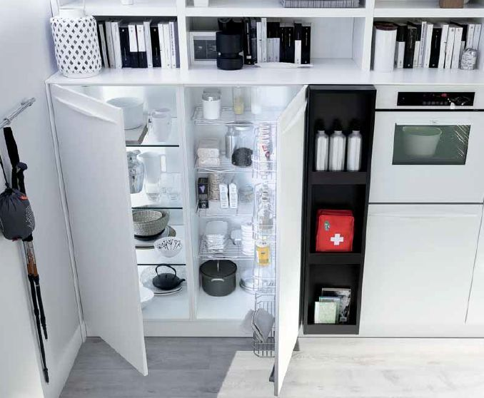 Preferenza Emejing Dispensa Cucina Moderna Gallery - Ideas & Design 2017  OR99