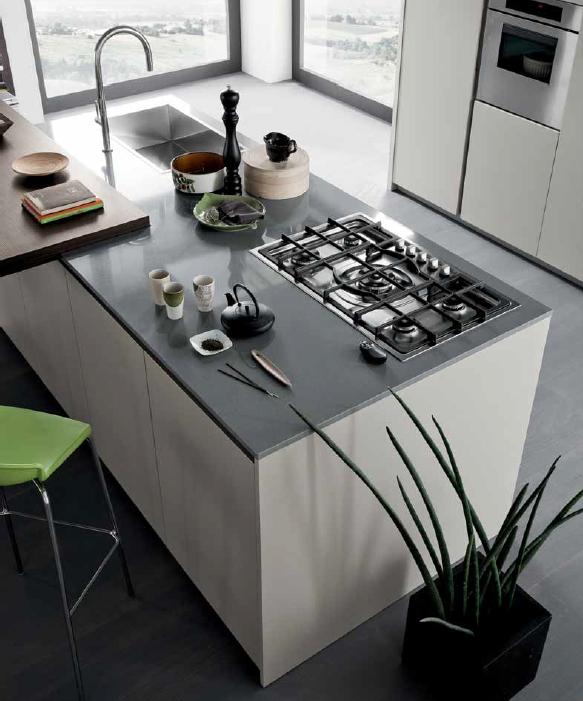 Stunning Cucina Grigio Scuro Ideas - bery.us - bery.us