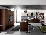 cucina moderna Madeira Wood Rovere Marrone