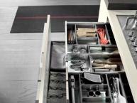 cassetto interno portaposate con maniglia Stratos
