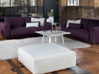 divano tradizionale in tessuto