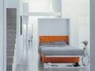 divano trasformabile in letto matrimoniale - aperto