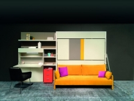 Clei Kali Duo Sofa HomeOffice letto a castello trasformabile
