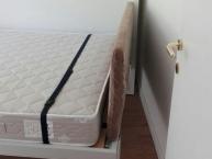 Testiera del letto a scomparsa arredato a riva del garda