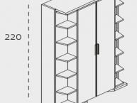 misure-armadio-trasformabile-letto-matrimoniale-clei-LGM-01