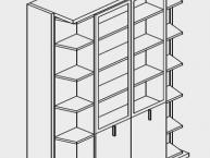misure-armadio-trasformabile-letto-matrimoniale-clei-LGM-04
