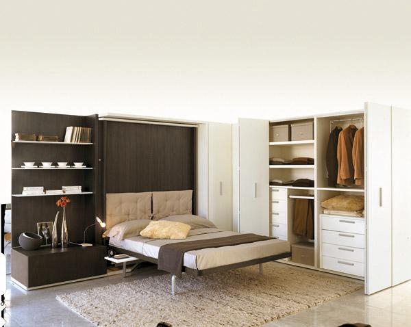 armadio trasformabile, lgm clei, letto a scomparsa, rete a ...