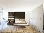 mobile trasformabile in letto matrimoniale - letto aperto