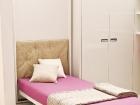 Mobile trasformabile letto singolo - letto aperto