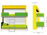Misure-mobile-trasformabile-letto-singolo-a-castello-clei-LLAS-02