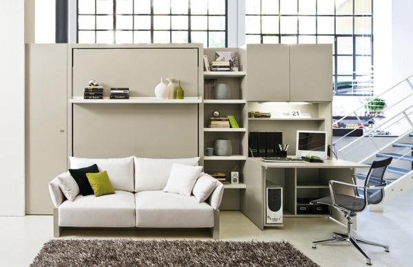 Letto matrimoniale a scomparsa divano trasformabile clei - Clei divano letto ...