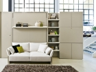 mobile trasformabile divano - letto matrimoniale