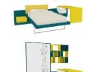 mobile trasformabile letto singolo
