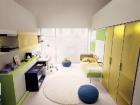 scrivania e mobili trasformabili letto singolo
