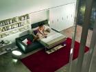 mobile trasformabile letto matrimoniale - letto aperto
