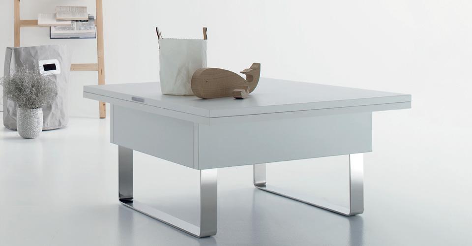 Tavolino Trasformabile Kubo.Tavolo Trasformabile Piccolo